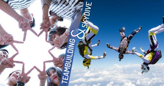 Teambuilding Skydive
