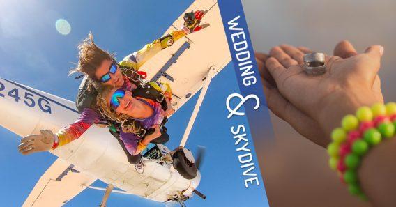 Wedding Skydive