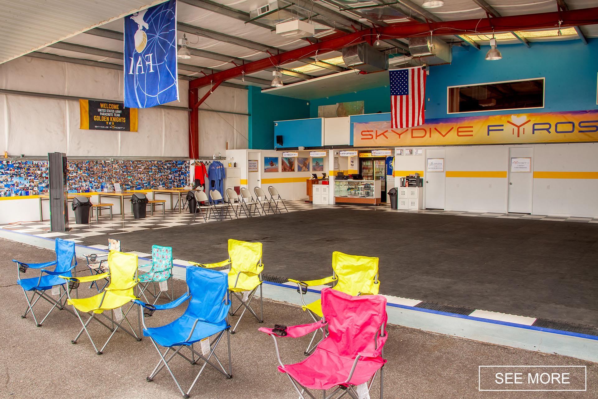 hangar homepage